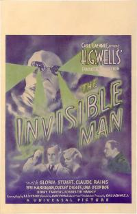 The Invisible Man - 11 x 17 Movie Poster - Style E