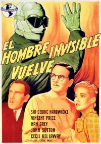Invisible Man Returns, The - 11 x 17 Movie Poster - Spanish Style A