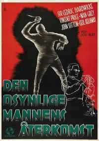 Invisible Man Returns, The - 11 x 17 Movie Poster - Swedish Style A