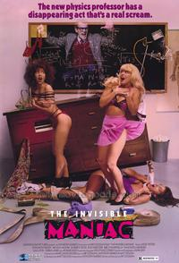The Invisible Maniac - 43 x 62 Movie Poster - Bus Shelter Style A