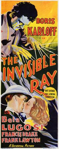 The Invisible Ray - 11 x 17 Poster - Foreign - Style A