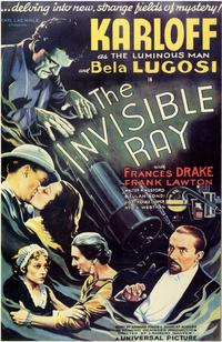 The Invisible Ray - 11 x 17 Movie Poster - Style B