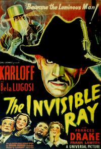 The Invisible Ray - 27 x 40 Movie Poster - Style A