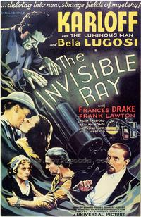 The Invisible Ray - 43 x 62 Movie Poster - Bus Shelter Style A