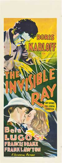 The Invisible Ray - 14 x 36 Movie Poster - Insert Style A