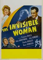The Invisible Woman - 11 x 17 Movie Poster - Style B