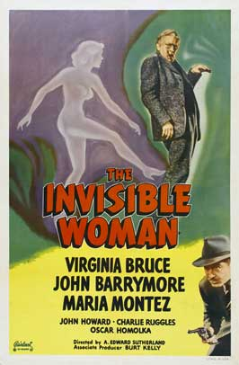 The Invisible Woman - 11 x 17 Movie Poster - Style D