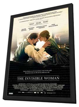 The Invisible Woman - 27 x 40 Movie Poster - Canadian Style A - in Deluxe Wood Frame