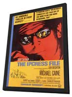 The Ipcress File - 11 x 17 Movie Poster - Style C - in Deluxe Wood Frame