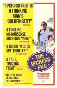 The Ipcress File - 11 x 17 Movie Poster - Style A