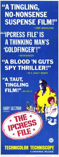 The Ipcress File - 11 x 17 Movie Poster - Style B