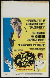 The Ipcress File - 11 x 17 Movie Poster - Style E