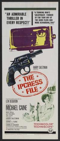 The Ipcress File - 14 x 36 Movie Poster - Insert Style B