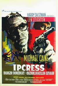 The Ipcress File - 11 x 17 Movie Poster - Belgian Style A