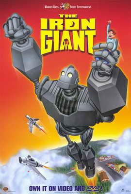 Iron Giant - 11 x 17 Movie Poster - Style B