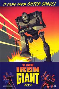 Iron Giant - 43 x 62 Movie Poster - Bus Shelter Style A