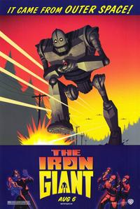 Iron Giant - 11 x 17 Movie Poster - Style A - Museum Wrapped Canvas