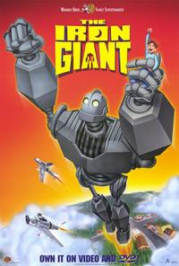 Iron Giant - 11 x 17 Movie Poster - Style B - Museum Wrapped Canvas