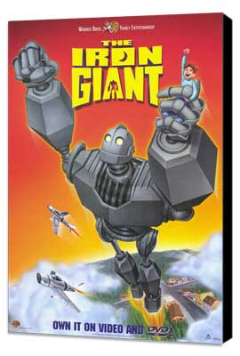 Iron Giant - 27 x 40 Movie Poster - Style B - Museum Wrapped Canvas