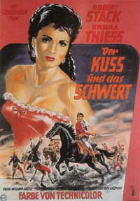 The Iron Glove - 11 x 17 Movie Poster - German Style A