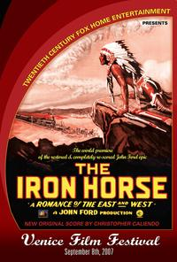 The Iron Horse - 27 x 40 Movie Poster - 2007 Venice Film Festival Limited Edition