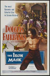 The Iron Mask - 27 x 40 Movie Poster - Style B