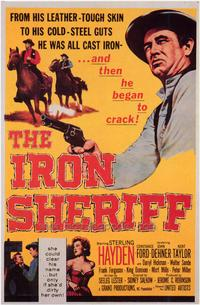 The Iron Sheriff - 43 x 62 Movie Poster - Bus Shelter Style A
