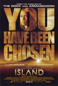 The Island - 11 x 17 Movie Poster - Style B
