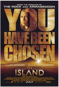 The Island - 43 x 62 Movie Poster - Bus Shelter Style A