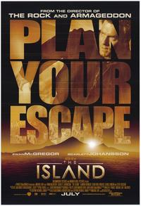 The Island - 43 x 62 Movie Poster - Bus Shelter Style B