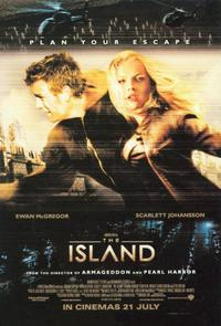 The Island - 11 x 17 Movie Poster - Style O