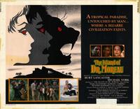 The Island of Dr. Moreau - 11 x 14 Movie Poster - Style B