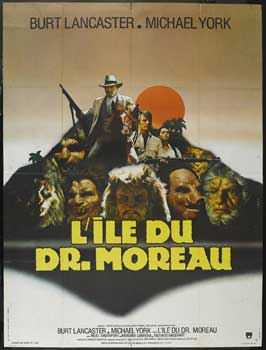 The Island of Dr. Moreau - 27 x 40 Movie Poster - French Style A