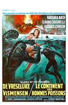 The Island of the Fishmen - 11 x 17 Movie Poster - Belgian Style A