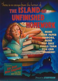 The Island of Unfinished Homework - 11 x 17 Movie Poster - Style A