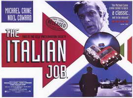 The Italian Job - 11 x 17 Movie Poster - Style C