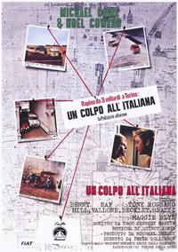 The Italian Job - 11 x 17 Movie Poster - Italian Style A
