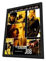 The Italian Job - 27 x 40 Movie Poster - Style C - in Deluxe Wood Frame
