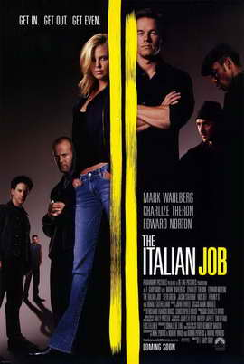 The Italian Job - 11 x 17 Movie Poster - Style A