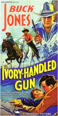 The Ivory Handled Gun - 27 x 40 Movie Poster - Style B