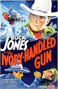 The Ivory Handled Gun - 43 x 62 Movie Poster - Bus Shelter Style A
