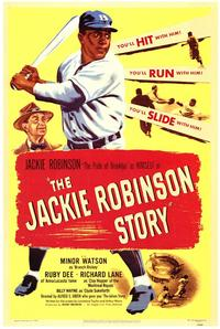 The Jackie Robinson Story - 43 x 62 Movie Poster - Bus Shelter Style A