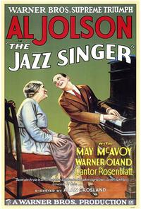 The Jazz Singer - 43 x 62 Movie Poster - Bus Shelter Style A