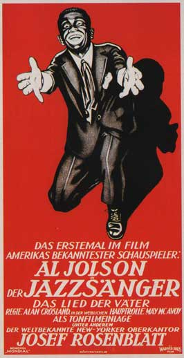 The Jazz Singer - 11 x 17 Movie Poster - German Style A