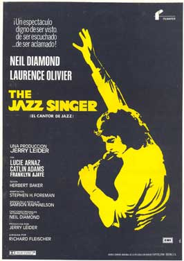 The Jazz Singer - 11 x 17 Movie Poster - Spanish Style A
