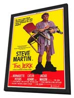 The Jerk - 11 x 17 Movie Poster - Style A - in Deluxe Wood Frame