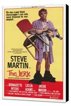 The Jerk - 27 x 40 Movie Poster - Style A - Museum Wrapped Canvas