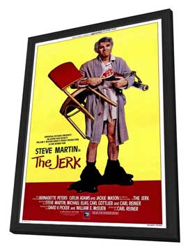 The Jerk - 11 x 17 Movie Poster - Style B - in Deluxe Wood Frame