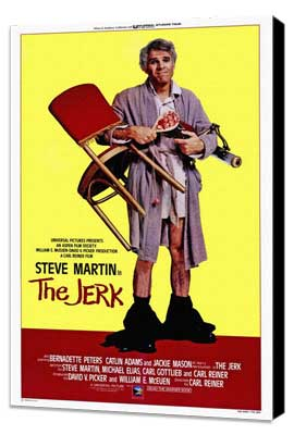 The Jerk - 27 x 40 Movie Poster - Style B - Museum Wrapped Canvas