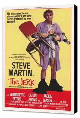 The Jerk - 24 x 36 Movie Poster - Style A - Museum Wrapped Canvas